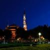 Нощна снимка на Света София