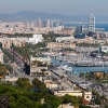 View from Castel de Montjuic