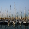 Yahts at Barcelona port