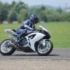 Suzuki GSX-R K7 750cc on Serres Circuit