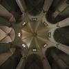 Inside Temple del Sagrat Cor