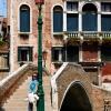 Мария някъде из уличките на Венеция