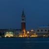 Нощна панорама на Венеция от острова Сан Джорджо Маджоре