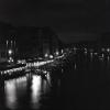 Ч/Б снимка от филмовия ми апарат на Гранд канал от моста Риалто